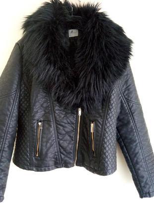 Курточка кожа косуха george p.xl (16)