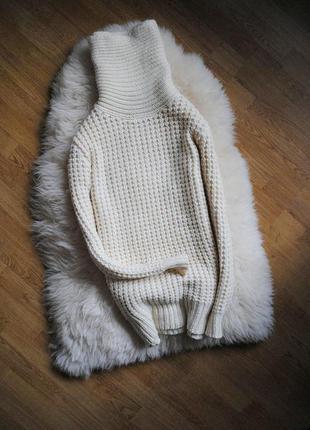 Вязаное платье-свитер asos