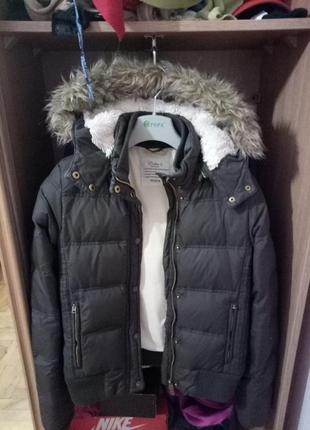 Теплый зимний пуховик,colins