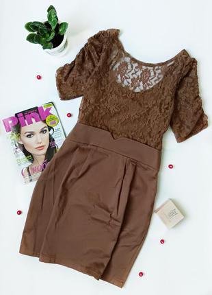 Красивое кружевное платье vila clothes испания
