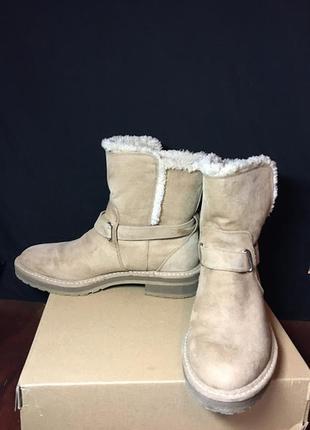 Bershka зимние ботинки