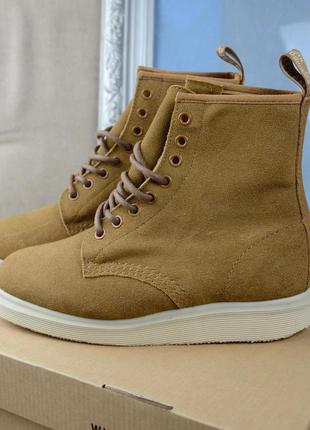 Dr. martens whiton 8-eye boot biscuit hi suede (36.38)