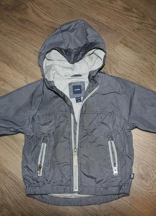 Ветровка (куртка)  baby gap  серая  рр18-24мес