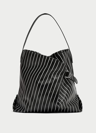 Кожаная сумка zara оригинал из испании