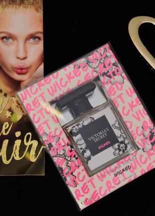 Victoria's secret. wicked eau de parfum. парфюм, духи. викториас сикрет (виктория сикрет)