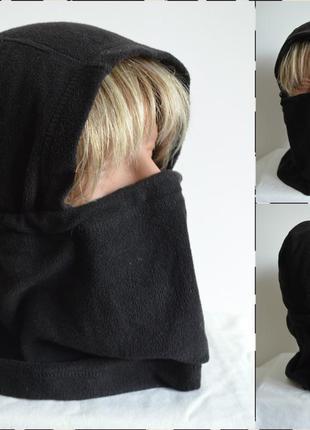 Tcm ® теплая флисовая балаклава размер one size