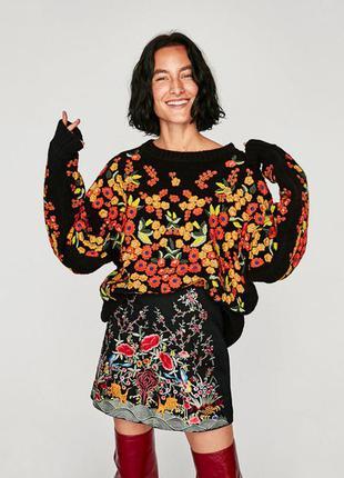Мега крутой свитер от zara!!оригинал.размер м