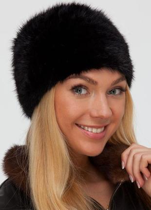 Современная норковая шапка, размер универсальный