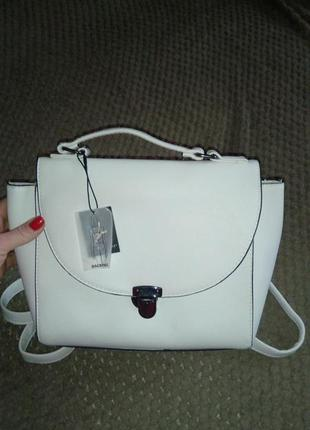Белый рюкзак atmosphere от примарк