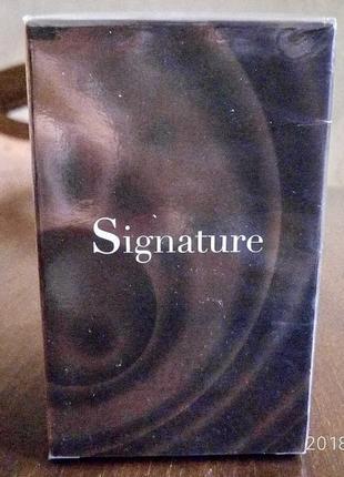 Туалетная вода signature