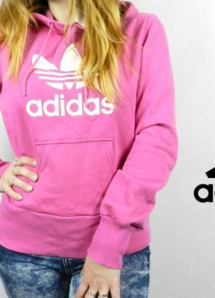 Толстовка adidas оригинал с капюшоном худи