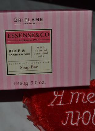 Мыло rose & sandalwood ( с розой и сандалом ) essense & co от oriflame