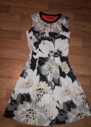 Супер платье цветочный принт next