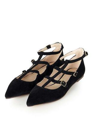 Замшевые туфли босоножки ремешки мокасины пинетки лодочки topshop