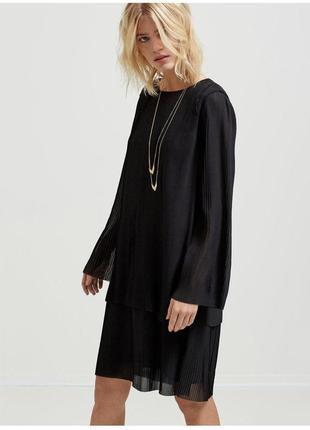 Коктельное платье/плиссе/ эффектное /нарядное / selected femme