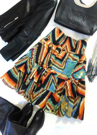 Стильная юбка в этно-стиле  от lauren ralph lauren, l-xl