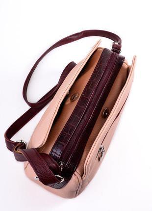 9e31041b302f Женская сумка с длинным ремешком м128-65/37, цена - 395 грн ...