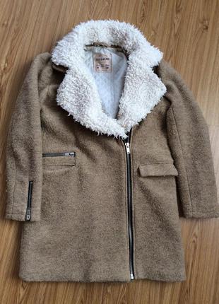 Пальто pull&bear. пальто косуха.