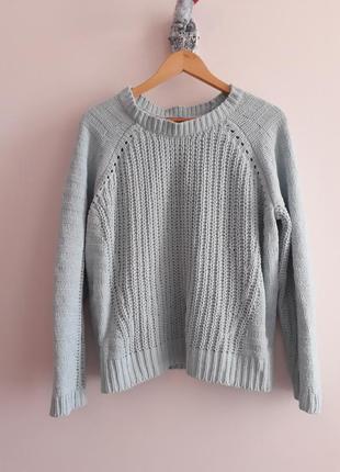 Плюшевый объемный свитер крупной вязки оверсайз george