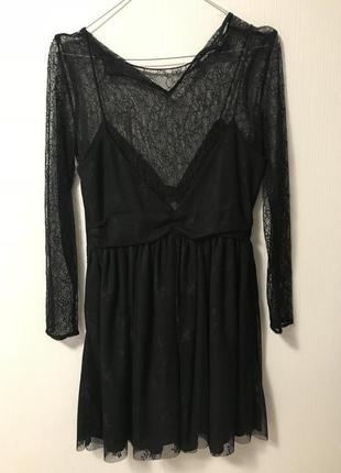 Маленькое чёрное платье зара