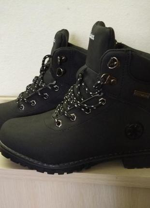 Женские зимние черные ботинки 37,41 размер