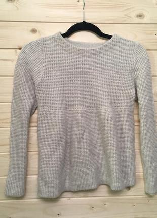 Шерстяной свитер zara knit - s