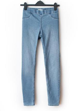 Отличные джинсы-джеггинсы h&m