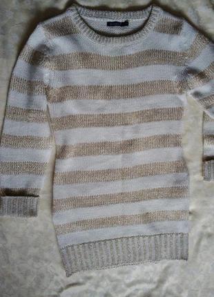 Вязаное платье с карманами