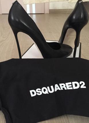 Туфли dsquared2 оригинал черные