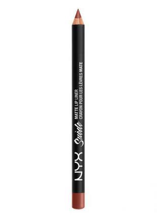 Матовый карандаш для губ suede matte lip liner (stockholm smll28)