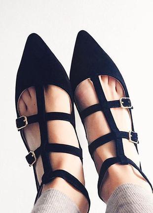 Туфли замшевые босоножки topshop 450грн