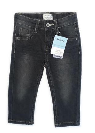 Детские джинсы на мальчика для крохи от impidimpi рост 74 80