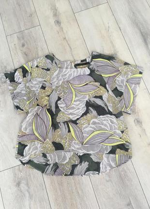 Блуза блузка zara s-m как новая