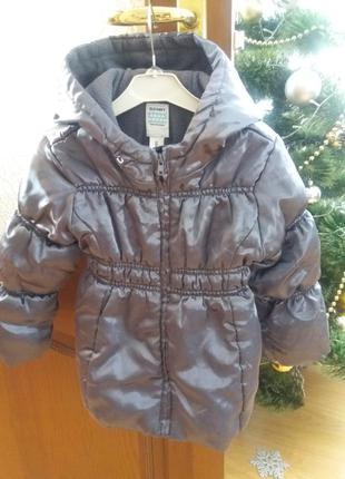 Куртка деми( теплая зима)