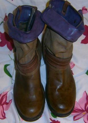 Оригинальные ботинки большого размера