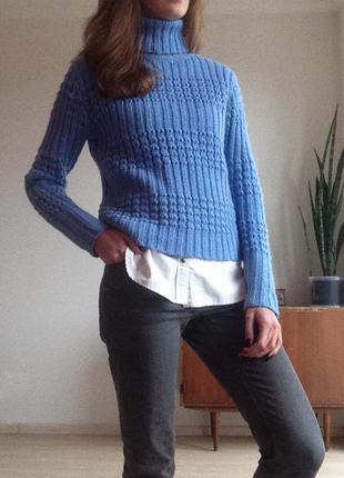 Теплый свитер 90% шерсть