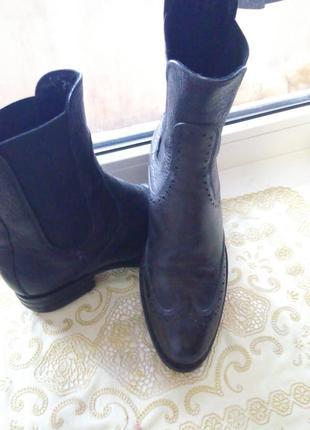 Актуальные ботинки натуральная кожа