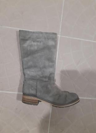 Замшевые, сапоги, ботинки