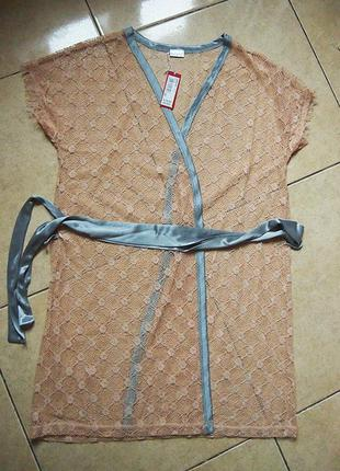 Кружевной халат пеньюар yamamay  s-m