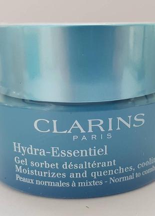 Новый интенсивно увлажняющий крем-гель clarins hydraquench cooling cream-gel