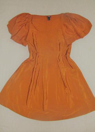 Интересное платьеце свободного кроя