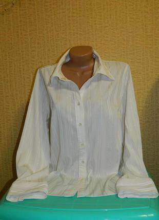 Блуза белая с блестящей полосочкой apt.9 р. 54-56