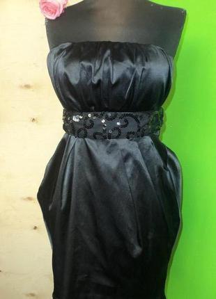 Маленькое чёрное платье бюстье