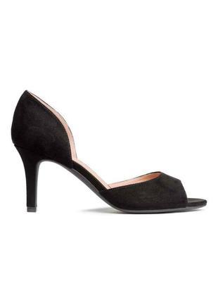 Туфли откритые, босоножки h&m 38