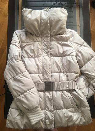 Тёплая куртка sisley. пуховик.
