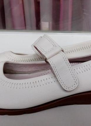 Комфортные кожаные балетки-мокасины medicus.