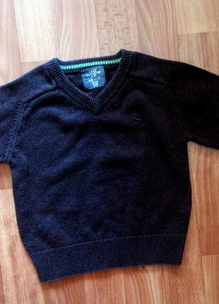 Фирменный свитер l.o.g.g. 1-1.5г р.86