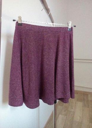 Женская летняя короткая миди юбка в идеальном состоянии