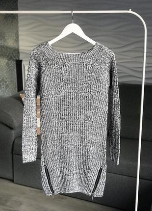 Тёплое платье f&f