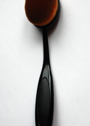 Кисть щётка для макияжа oval большая4